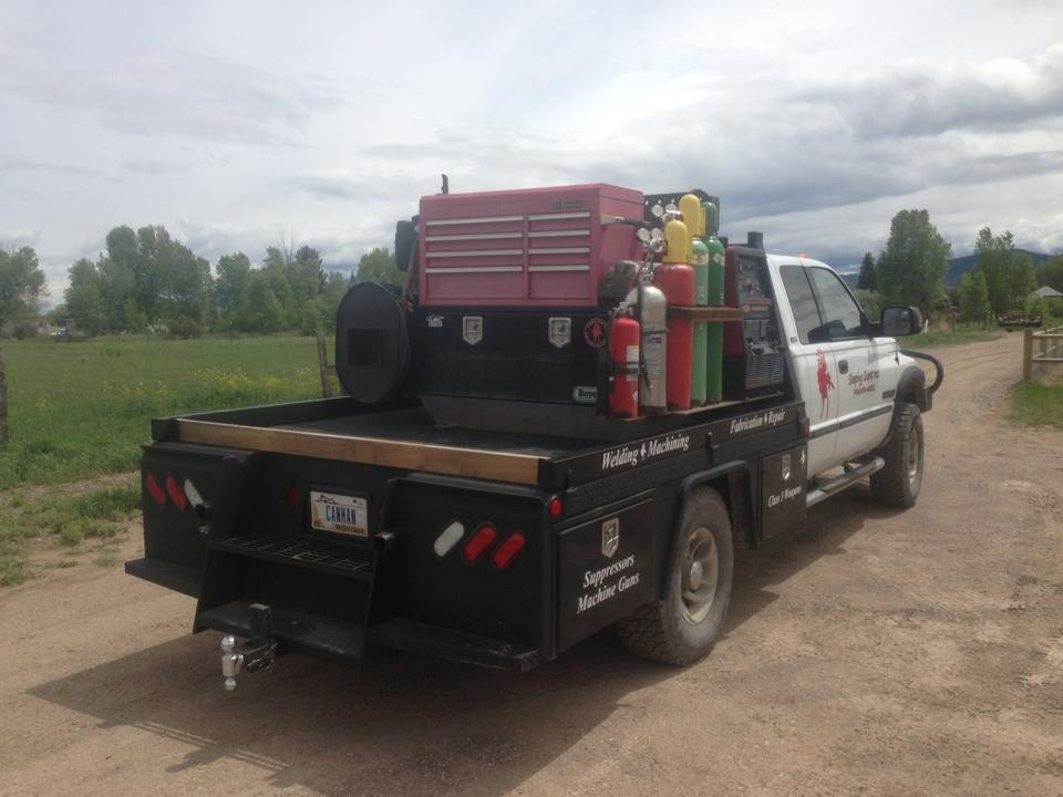 Our Mobile Fabrication and Welding Truck allows us to work from anywhere a job needs to get done.