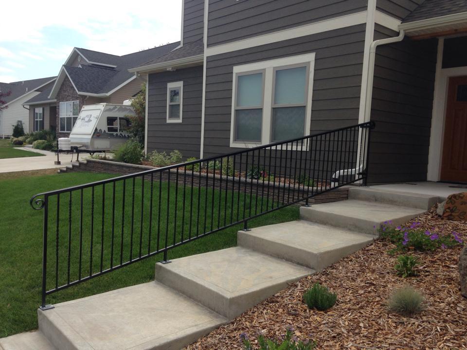 Metal Fabrication - Handrail