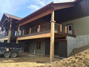 Porch Railing Install